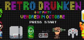 Retro Drunken - 8 Bit Party !