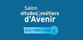 Salon des études et des métiers d'avenir 2016 - Jeux vidéo et cinéma d'animation