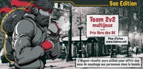 Hokuto Suisse sac édition - tournoi caritatif jeux d'arcade