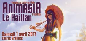 Animasia Le Haillan 2017 - 5ème édition du festival aquitain des cultures asiatiques