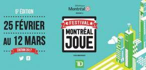 Festival Montréal Joue 2017