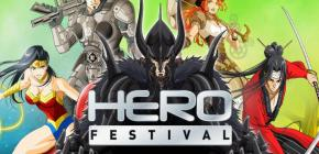 Hero Festival 2017 - quatrième édition du salon des héros BD, Jeux vidéo et Séries