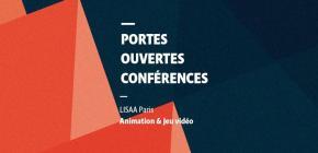 Journées portes ouvertes à LISAA Paris Animation et Jeu vidéo