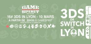 3DS or Switch in Lyon - seizième édition