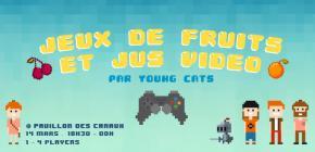 Jeux de fruits et Jus vidéo au Pavillon des Canaux
