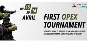 First OPEX Tournament
