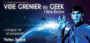 13ème Vide Grenier du Geek à Lyon - édition printemps 2017