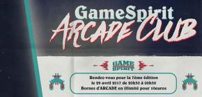 GameSpirit Arcade Club 2017 - 7ème édition