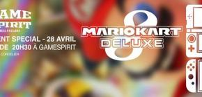 3DS or Switch in Lyon - Lancement Spécial de Mario Kart 8 Deluxe