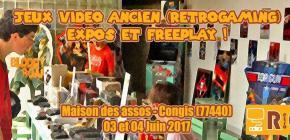 Retro-Gaming : Expo et Freeplay by RGC