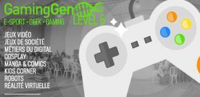 Gaming Gen 2017 - sixième édition du Festival du Jeu de Gardanne
