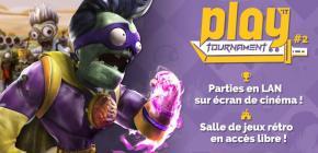 Play'it Tournament : Parties en LAN sur écran de cinéma et salle de jeux rétro