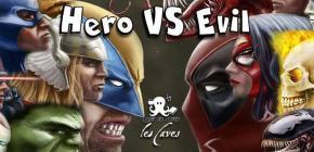 Comic's night Hero VS Evil