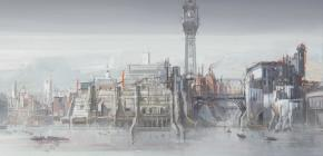 Vente aux enchères de dessins de jeu vidéo de Viktor Antonov