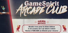 GameSpirit Arcade Club 2017 - 8ème édition