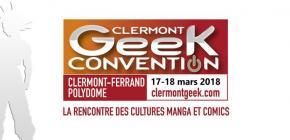 Clermont Geek Convention 2018 - manga et comics