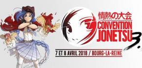 Jonetsu 2018 - troisième convention des créateurs et des métiers de l'anime et manga