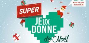 Brocante solidaire Super Jeux Donne de Noël