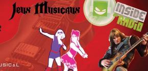 Soirée jeux musicaux - guitare hero just dance