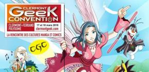 Clermont Geek Convention 2018 - manga et comics