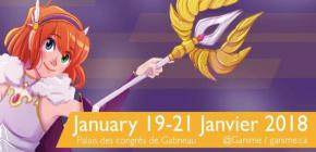G-Anime Convention 2018 - Winter édition du salon Manga et Anime au Canada
