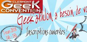 Geek'Athlon 2018 - 3ème édition