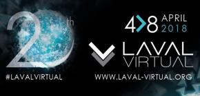 Laval Virtual 2018 - 20èmes Rencontres Internationales de Technologies et Usages du Virtuel