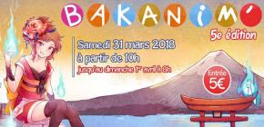 Bakanim 2018 - 5ème convention de la pop culture japonaise