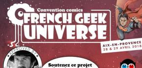 French Geek Universe - convention comics