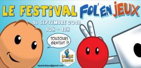 Festival Fol'En Jeux de Verviers - 5ème édition