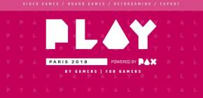Festival PLAY 2018 - powered by PAX