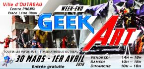 Week-end Geek Art
