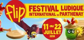 FLIP 2018 - Festival Ludique International de Parthenay