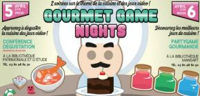 Gourmet game nights - Conférence Gastronomique