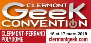 Clermont Geek Convention 2019 - manga et comics