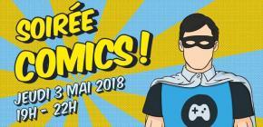 Soirée Pix3L Comics