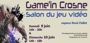 Game'in Crosne - Salon du jeu vidéo de la ville de Crosne