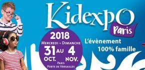 Kidexpo 2018 - 12ème édition du salon pour les enfants