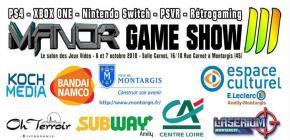 Manor Game Show 2018 - troisième édition du salon des Jeux Vidéo