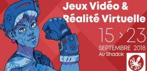 Jeux Vidéo et Réalité Virtuelle au Festival Européen du Film Fantastique 2018
