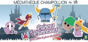 Après-midi jeux vidéo Princes et Princesses