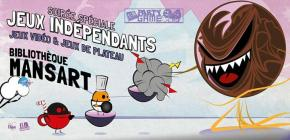 Soirée jeux vidéo Indépendants