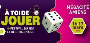 A toi de Jouer - Festival du jeu et de l'imaginaire 2019