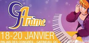 G-Anime Convention 2019 - Winter édition du salon Manga et Anime au Canada