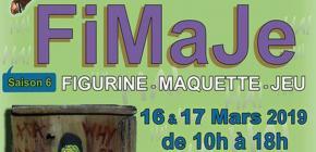 Fimaje 2019 - Salon de la Figurine, de la Maquette et du Jeu