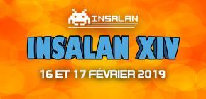 Insalan XIV - Cosplay, retrogaming, matchs commentés