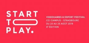 Start To Play 2019 - 6ème édition du festival du Jeu Vidéo de Strasbourg