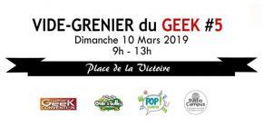 Vide Grenier du Geek Clermont 2019 - 5ème édition