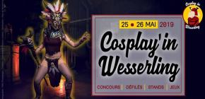 Cosplay'in Wesserling 2019