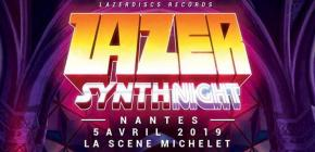 Lazer Synth Night par Lazerdiscs Records